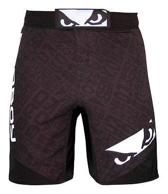 Bad Boy Legacy II MMA Repeat Fightwear Shorts - Black