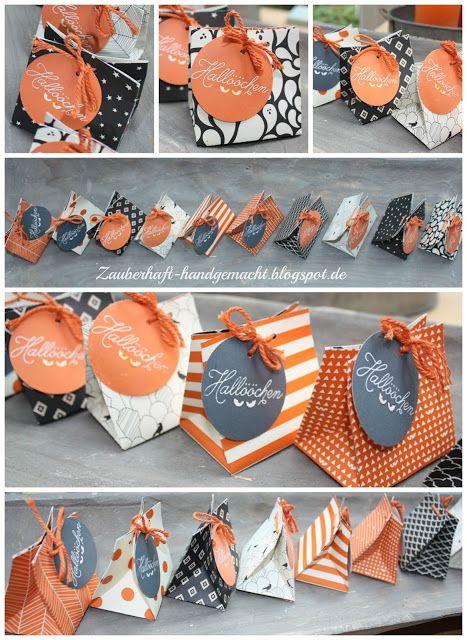 Hallööchen: Goodies mit dem Punchboard für Geschenktüten
