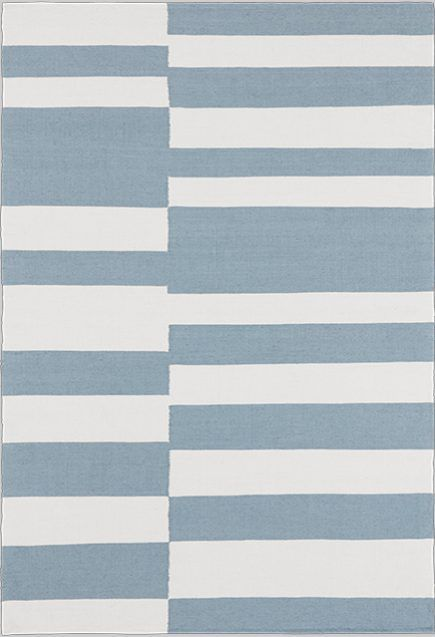 Layered's Stripe Dusty Blue Rug. The balance between unique lines and shapes gives a striking look. Stripe combines an eye-catching pattern yet a simplicity of forms. Free delivery. No customs fees within EU & Norway. Estimated delivery within 2 weeks. See more at: http://layeredinterior.com/product/stripe/