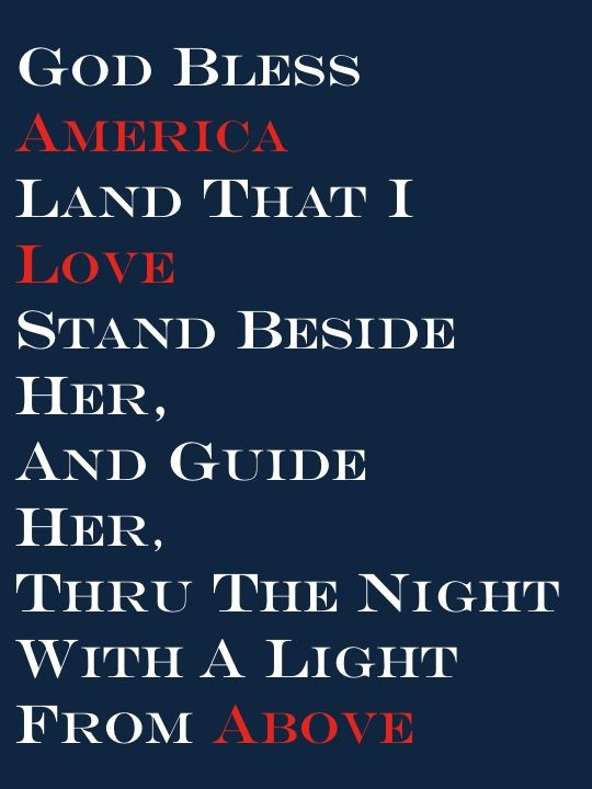 4th of July Quotes - God Bless America - www.thechicsite.com