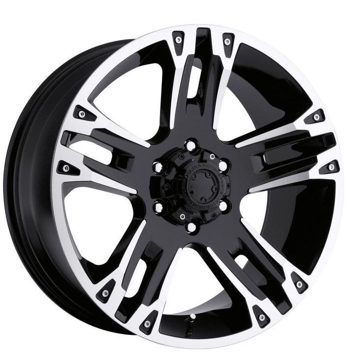 Ultra Wheel 235B Maverick Matte Black Wheel