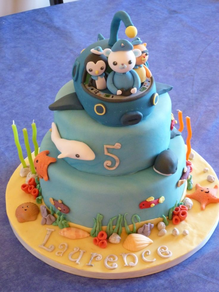 Octonauts Birthday Party Cake Ideas And Designs