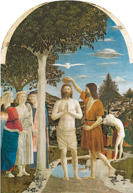 Piero della Francesca's The Baptism of Christ
