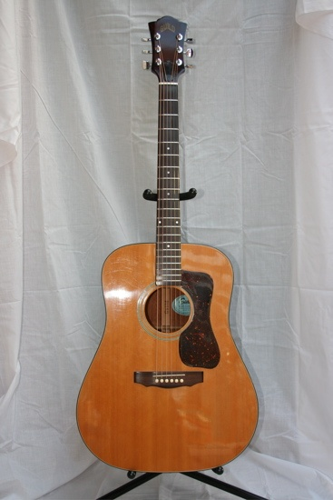 Guild D35 acoustic guitar. This looks just like mine!