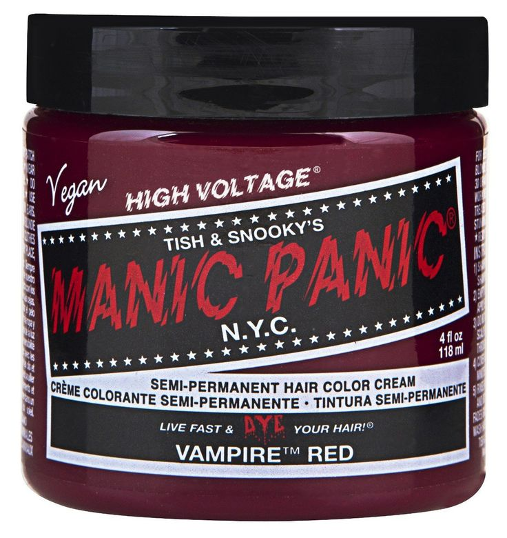 Manic Panic Semi-Permament Haircolor Vampire Red 4oz Jar (3 Pack) * Click image to review more details.