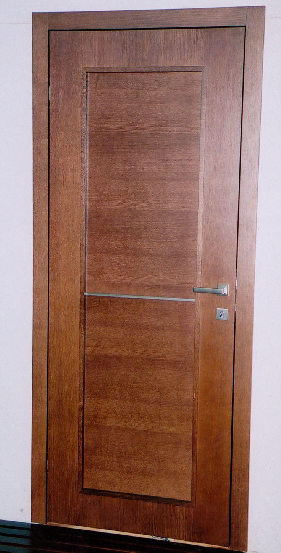 tölgy színfurnéros viaszolt rusztikus beltéri ajtó
