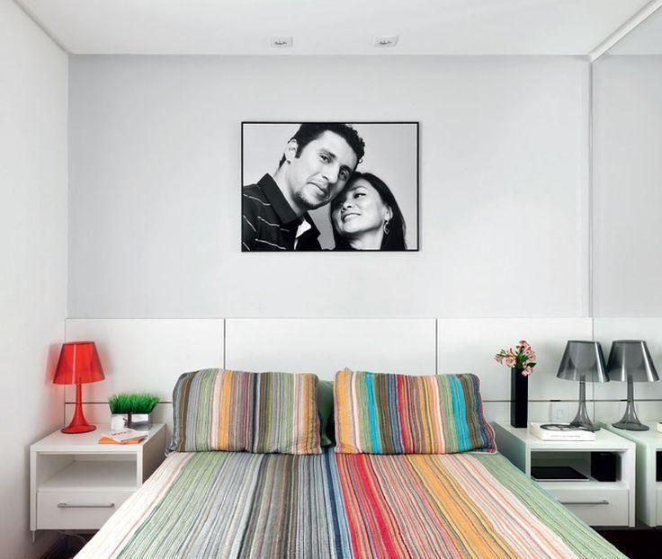 95+ Quartos de casal pequenos e simples decorados