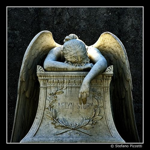 amandus:    Angel of Grief byWilliam Wetmore Story(via Stefano Pizzetti)