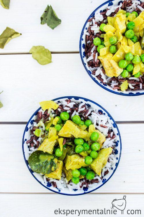 Kurczak Curry Z Mleczkiem Kokosowym I Groszkiem Kurczak Na Obiad