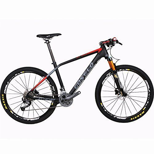 Costelo ATTACK bicycle MTB Frame carbon Bicylce Mountain Bike Ultralight 275 MTB Frame Original Groups Wheels Saddle Bar Tire SHIMANO M4000 275 15 -- Want to know more, click on the image.