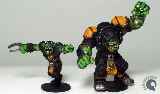 My DreadBall Green-Skin Team