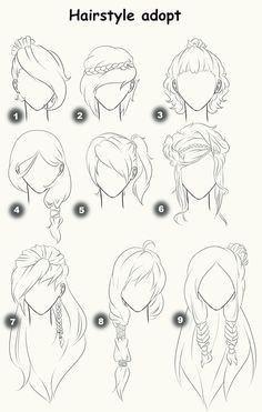 Cómo dibujar cabellos de mujer – El Cómo de las Cosas