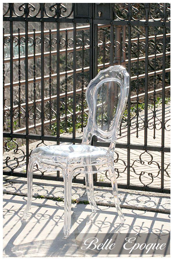 Belle Èpoque Transparent Chair In Cividale