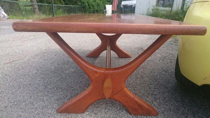 Teak coffetable, Swedish from the 60' ties design: Fredrik Shreiever-Ablen. For sale in finn.no