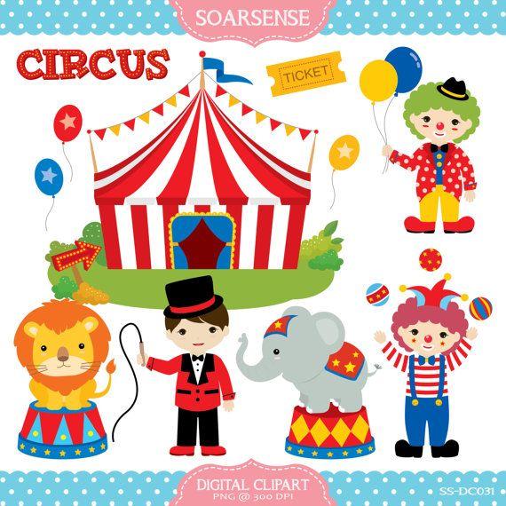 Circus clipart calendarios pinterest - Clipart carnaval ...