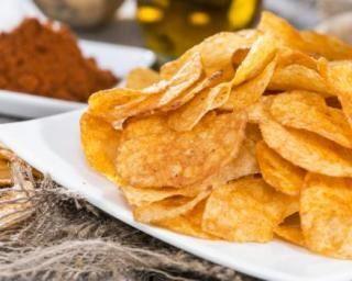 Chips sans huile au micro-ondes