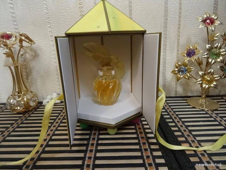 L'Air du Temps Nina Ricci 15ml. Perfume Vintage Lalique by MyScent on Etsy