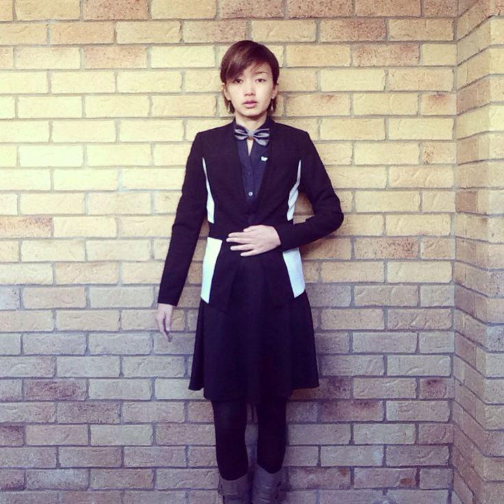 Today's look | jacket @ BASQUE | skirt @frenchconnection_au | #corporatestyle #corporatefashion #corporatechic #workwear #ootd #lookoftheday #asianfashionmodel #workfashion #fashiongram #fashioninspo #时装 #おしゃれ  #australianfashionblogger #australianfashionlabels #fashionandfeline #frenchconnection_au #whatiwore #styleinspo #lookbook #fashionphotography #corporatewear #statementjacket #everydaystyle #frenchconnection