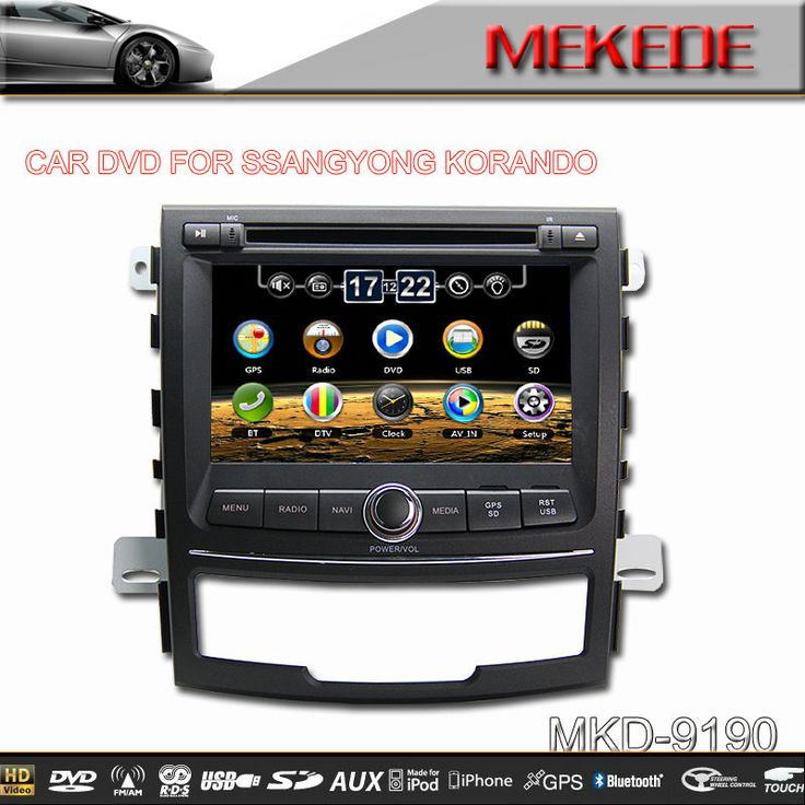 Special Car DVD for Ssangyong Korando with USB/SD/IPOD/DVD/TV/GPS/BLUETOOTH CAR DVD PLAYER