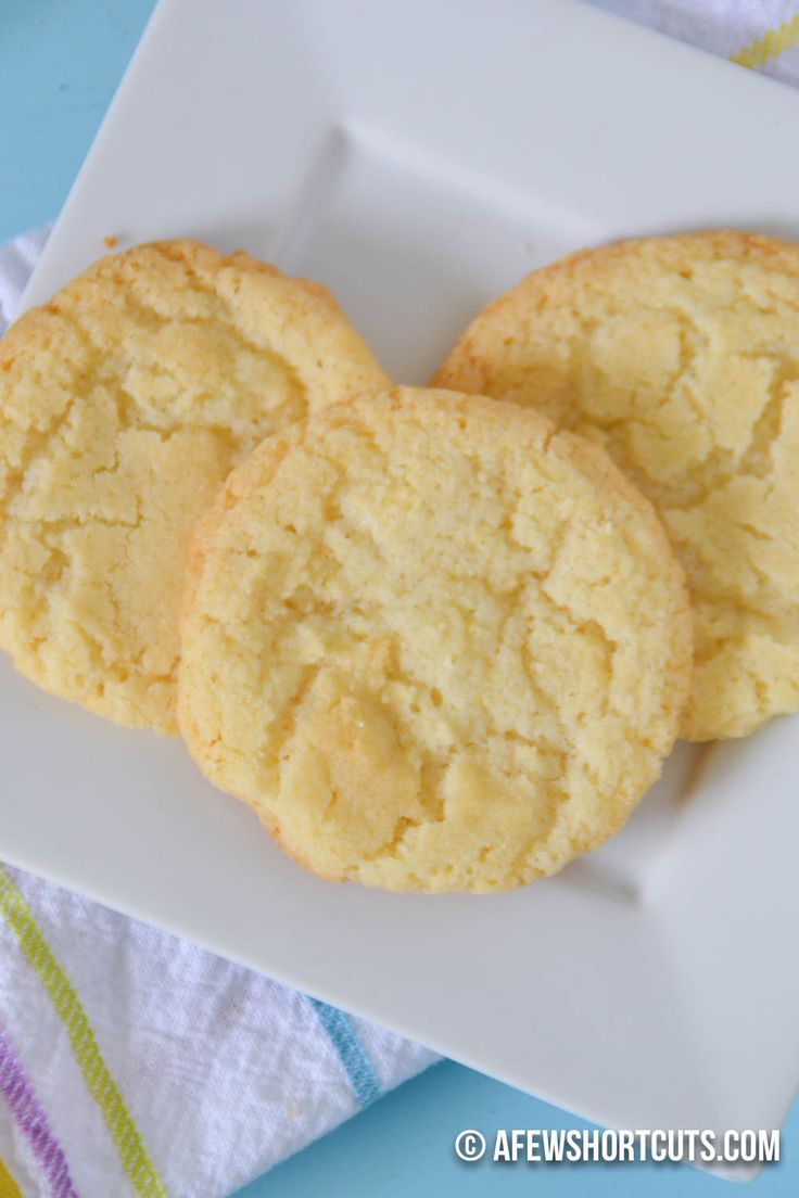 What is one of Ina Garten's recipes for sugar cookies?