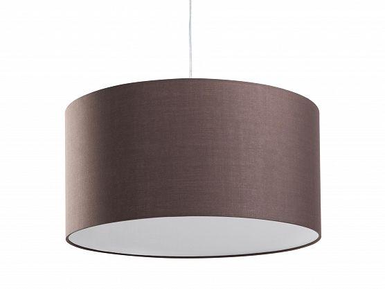 Lampa sufitowa wisząca - żyrandol brązowy - oświetlenie - ELBE_48638