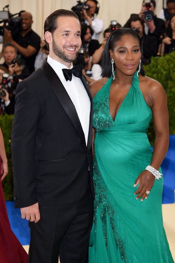 Serena Williams and Alexis Ohanian - Your favorite celebrity couples were all dressed up in love on fashion's biggest night. | ESSENCE.COM