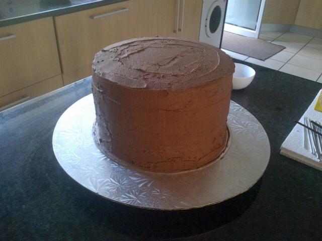 Step 2 KTM cake