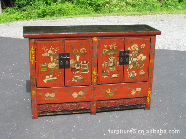 Find More TV Stands Information about solid old wood simple graceful  painting Ming style Chinese antique