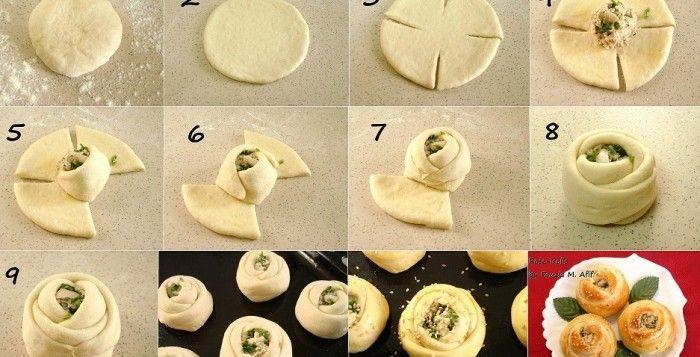 Come fare rose salate ripiene