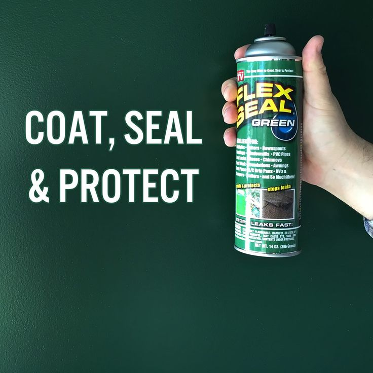 Flex Seal Is The Best Way To Coat, Seal And Protect! Did You Know