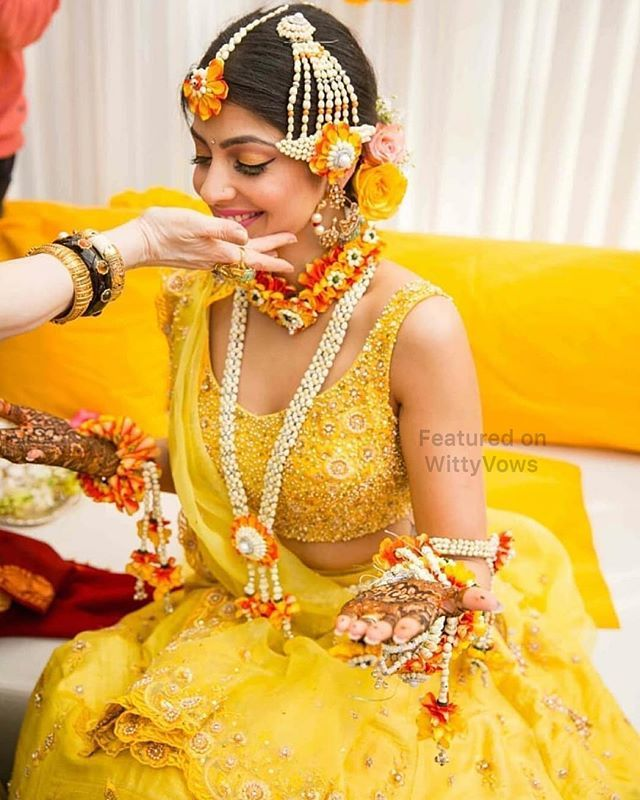 Mehendi outfit inspiration for Brides