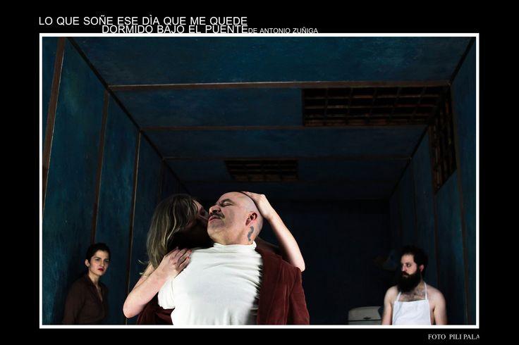 #LoQueSoñéEseDíaQueMeQuedéDormidoBajoElPuente #Teatro