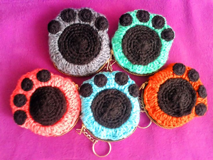 Monederos-llaveros En Crochet (Otras Artesanías) a VEF 100 en PrecioLandia Venezuela (6v2l2w)