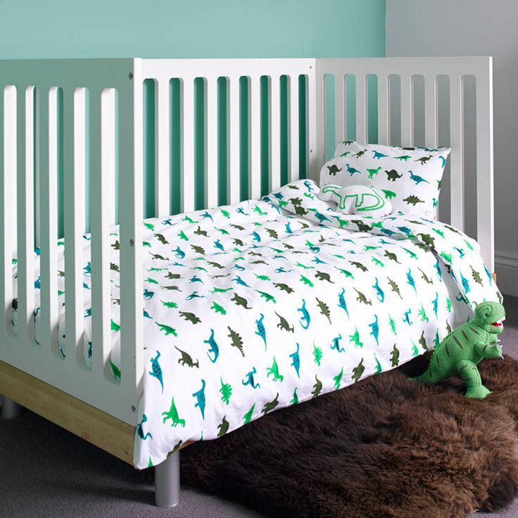 Dinosaur Cot Bed Duvet Set
