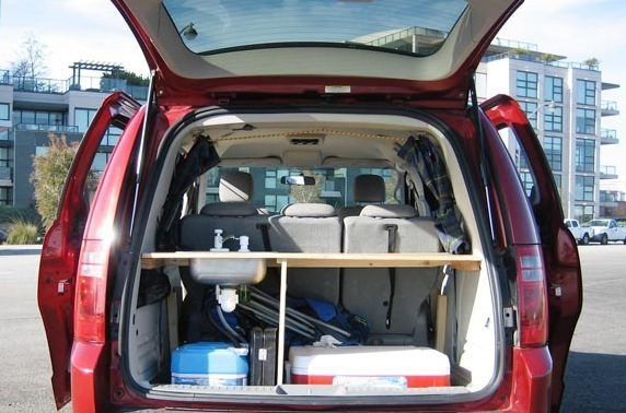 Dodge Grand Caravan Minivan Camper | Camping and Travel ...