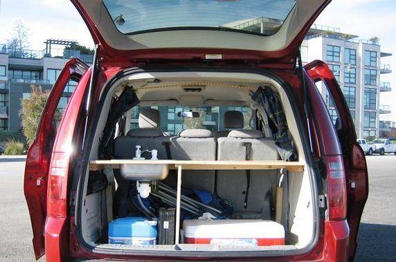 Dodge Grand Caravan Minivan Camper Photo Camping And
