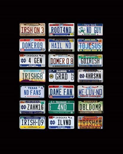 License Plate Sign