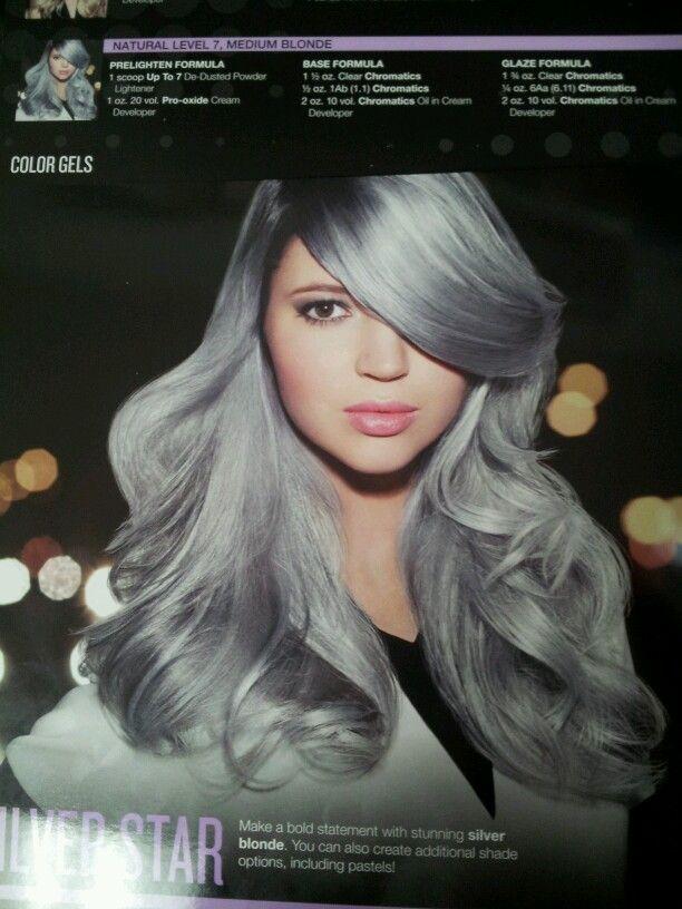 Redkin Silver Hair - love this