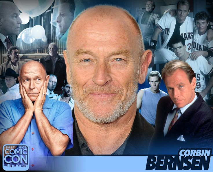 Meet actor Corbin Bernsen at #SLCC17! Vulcan in American Gods, Henry Spencer in Psych, Major League, and more! #utah