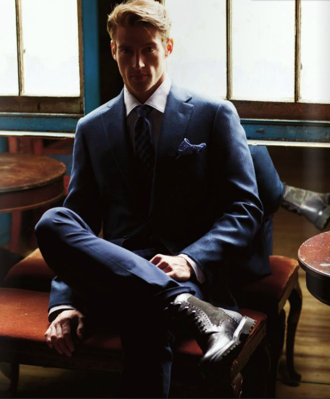 Heath Hutchins for Rodes Magazine. See more at www.malemodelsinsuits.blogspot.com