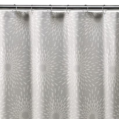 One of the reviews said she halved this, sewed hems and made it into one-panel curtains. Love!