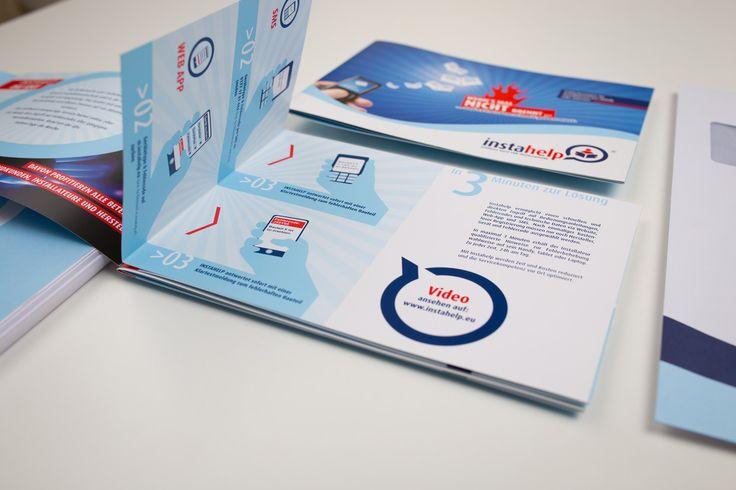 INSTAHELP | Logo Design, Corporate Design, Direct Marketing, Imagevideo, Webdesign, Print by Big Pen