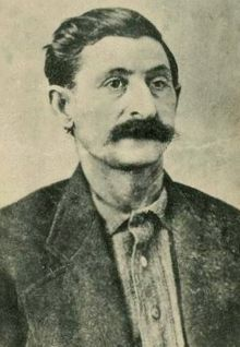 George Parrott, also known as Big Nose George, George Manuse and George Warden, was a cattle rustler in the American Wild West in the late 19th century. He is famous for his skin being made into a pair of shoes after his execution.