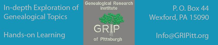 Genealogical Research Institute of PIttsburgh: Law School