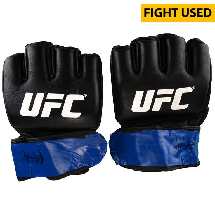 Shamil Abdurakhimov Ultimate Fighting Championship Fanatics Authentic UFC Fight Night: Cowboy vs. Cowboy Fight-Worn Gloves - Defeated Anthony Hamilton via Unanimous Decision