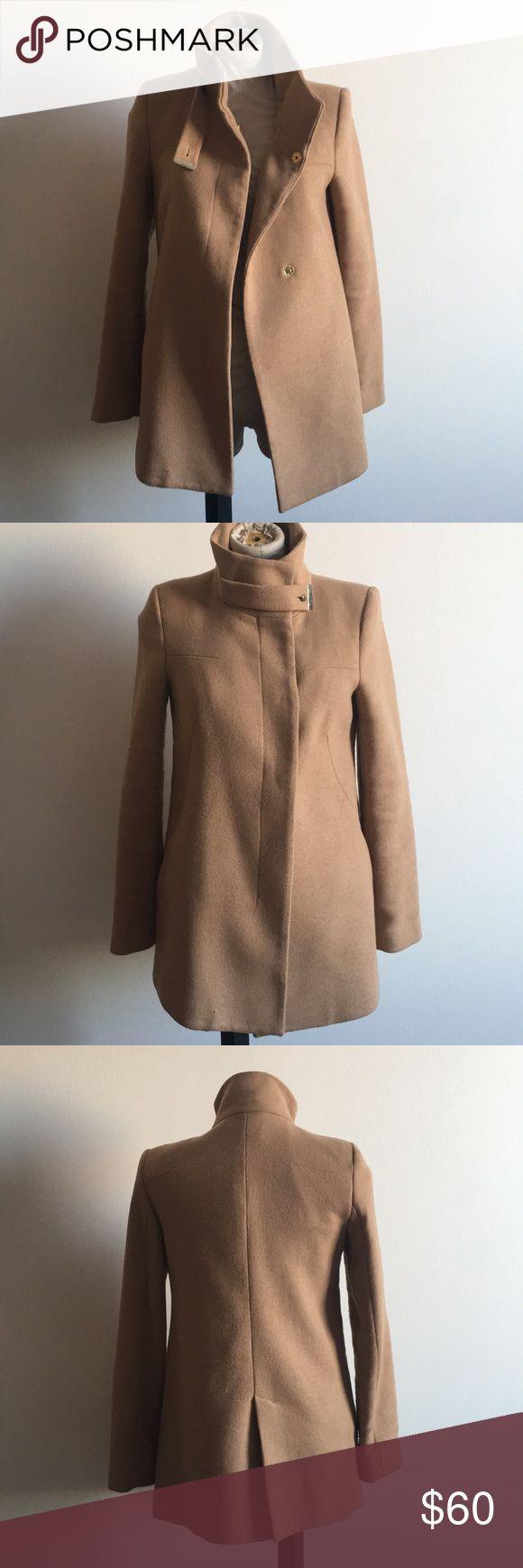 Mango dressy jacket Tan dressy jacket 🧥 Mango Jackets & Coats Pea Coats