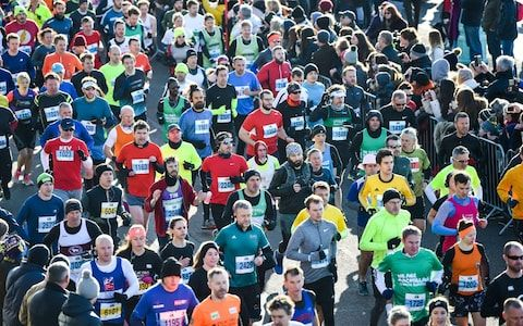Thousands of runners set off from the start on Madeira Drive in the Grand Brighton Half Marathon. rganisers of marathons and other outdoor events have been urged to do more to clear up the thousands of plastic bottles left behind by competitors.  It follows a row over the number of plastic bottles dumped by participants in the Brighton half-marathon which then blew out to sea, adding to the waste already polluting the English Channel.  Residents said dozens of discarded bottles of Lucozade…