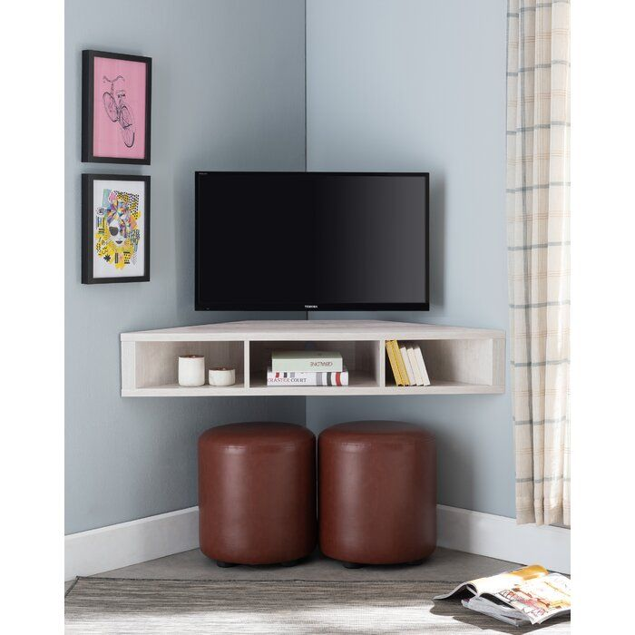 French Floating Corner Tv Stand For Tvs