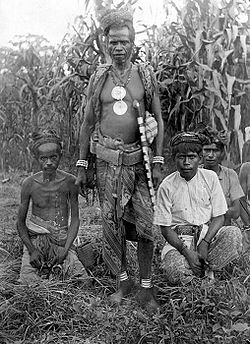 Atoni warrior-priest, West Timor