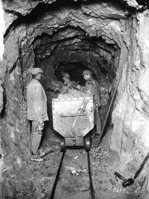 El Teniente Mine, 1919. Chile.